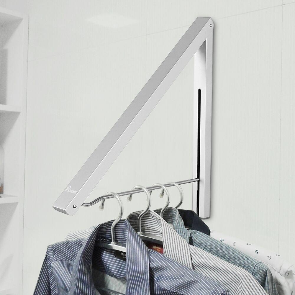 Anjuer Kleiderhaken Klappbar Wand-Kleiderst/änder
