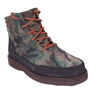 Amazon.com | Polo Ralph Lauren Bearsted Boots Suede Sport Camo ...