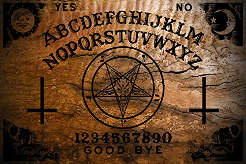 Amazon Ouija Board Demon Pentagram Burnt Design With