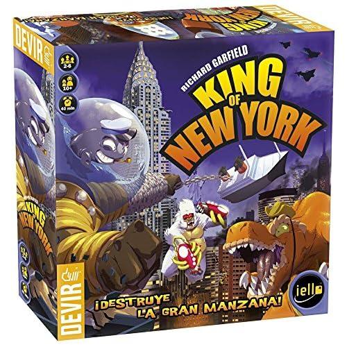 chollos oferta descuentos barato Devir King of New York Juego de Tablero BGHKINGNY