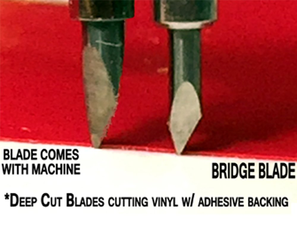 German Carbide Replacement Cutting Blades for Craft Cutting Machines compatible with Bridge Cricut Air Expression 2 Explore Maker Refine cutters 3 blades