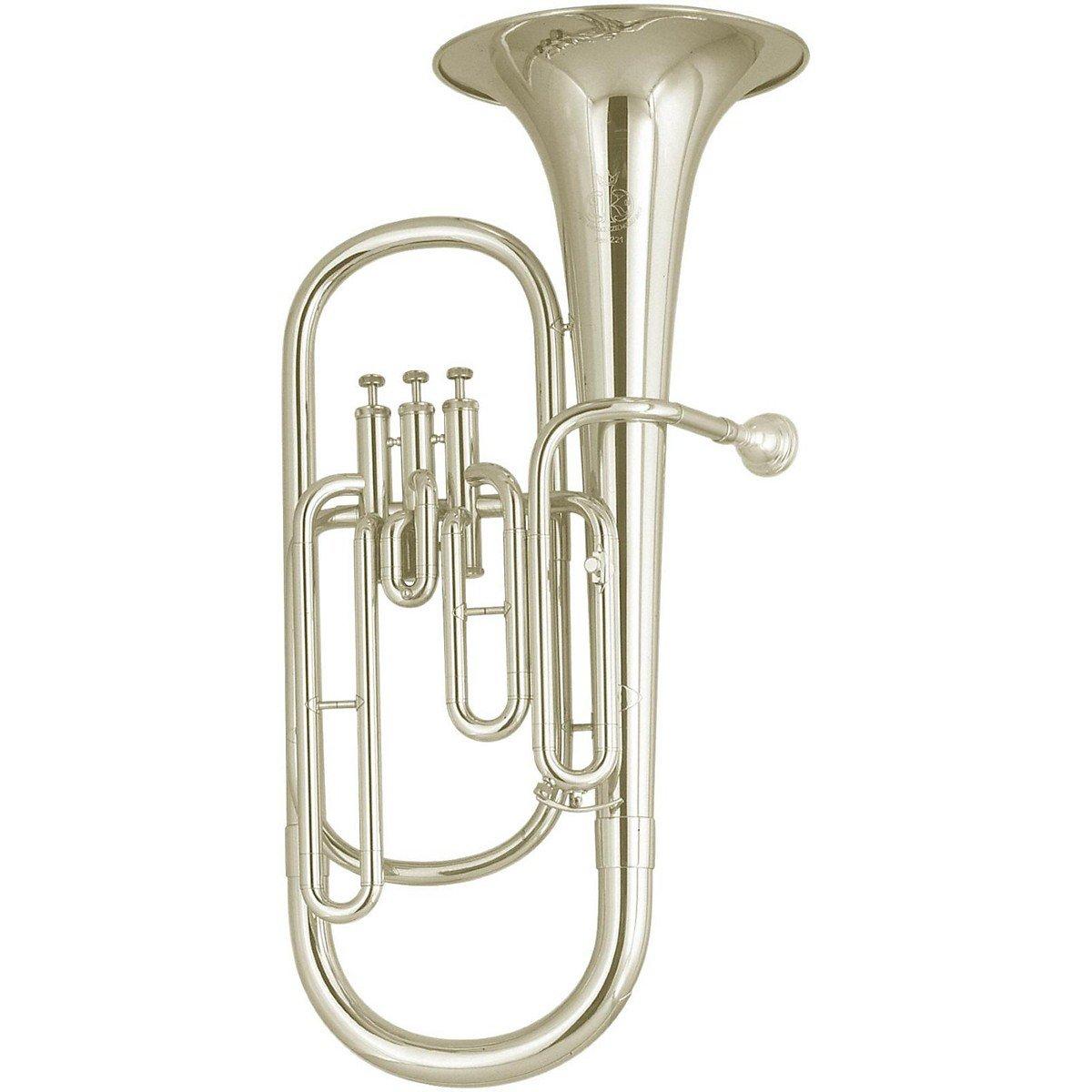 Amati ABH 321 Series Bb Baritone Horn ABH 321S Silver