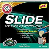 Arm & Hammer Non-Stop Odor Control Slide Easy Clean-Up Litter - 19 Lbs