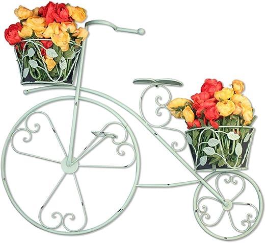Flor estante Brisk Bicicleta de Hierro de la Vendimia Báscula ...