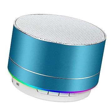 Altavoz Bluetooth portátil Altavoz portátil inalámbrico ...