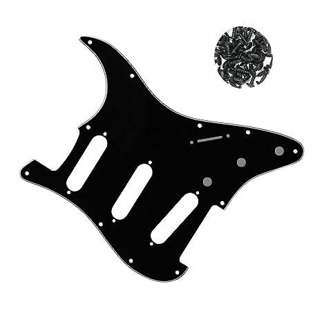 Guitarra eléctrica SSS Pickguard 4 capas para Fender Strat ...