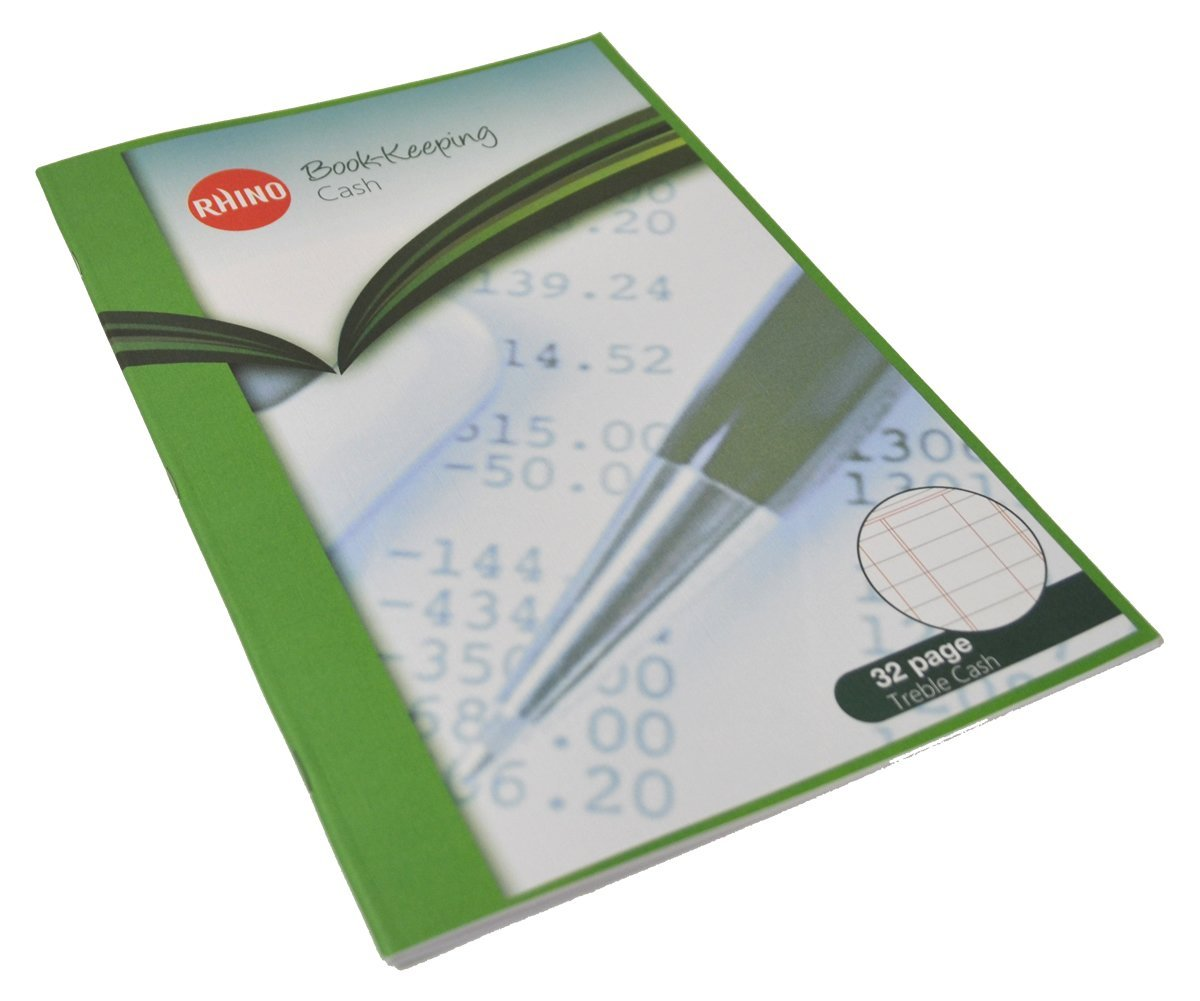 RHINO - Quaderno per contabilità formato A4, 32 pagine Victor Stationery BKC-6