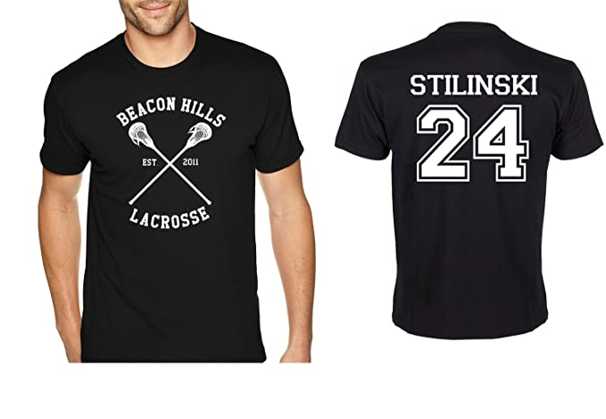 Stilinski 24 Lacrosse Beacon Hills Adult T Shirt Tee