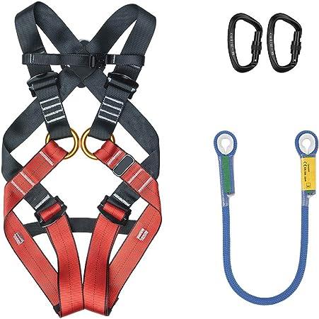 Kit de arnés de escalada para niños al aire libre con cuerda ...