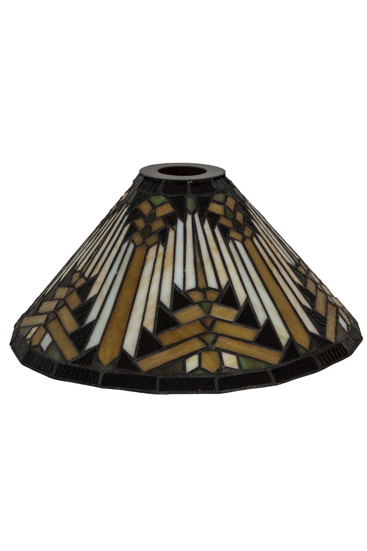Meyda Tiffany 18837 Shade, Finish: Beige Hagr Xag