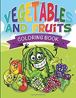 Vegetables And Fruits Coloring Books Name That Veggie Fruit