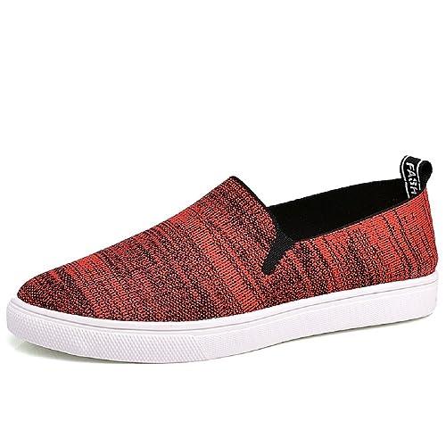 HangFan - Mocasines de malla para hombre: Amazon.es: Zapatos y complementos