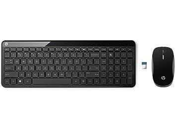 Hp c6020 sans fil bureau anglais uk noir clavier et souris p0q51aa