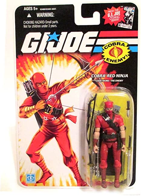 Cobra Red Ninja - Gi Joe 25th Anniversary