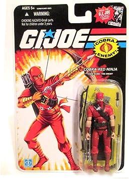 Amazon.com: Cobra Red Ninja – G.I. Joe 25th aniversario ...