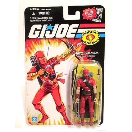 Cobra Red Ninja - G.i. Joe 25th Anniversary: Amazon.es ...