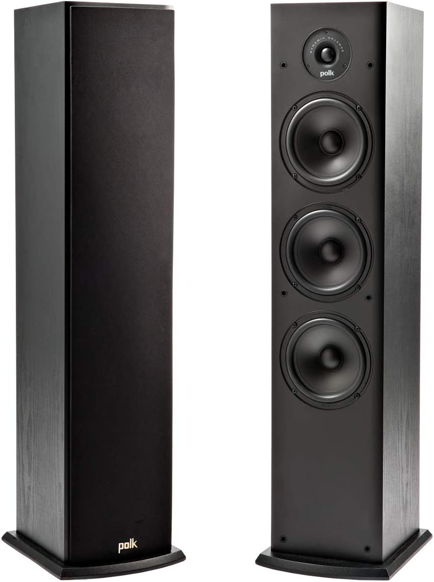 Polk T50 150-Watt Home Theatre Floor Standing Tower Speaker