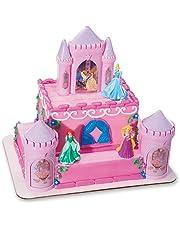 Decopac Disney Princess Happily Ever After Signature DecoSet Cake Topper 4.8 L x 2.5 W x 6 H Pink