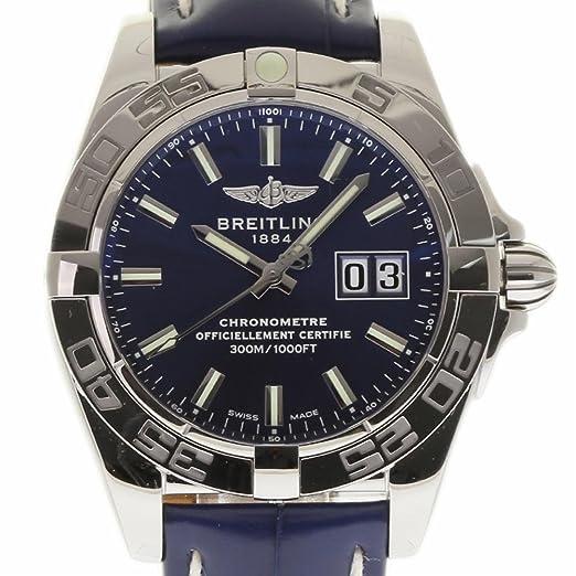 Breitling Galactic swiss-automatic Mens Reloj a49350 (Certificado) de segunda mano: Breitling: Amazon.es: Relojes