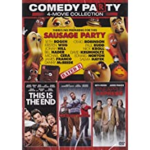 Sausage Party / This Is The End / The Night Before / Pineapple Express 4-Movie Collection