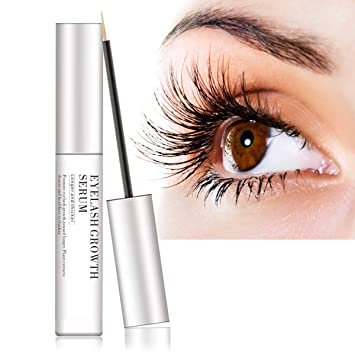 10a9c341841 Eyelash Growth Serum, Eyelash & Brow Growth Serum Natural Super Beauty Eyelashes  Liquid for Long