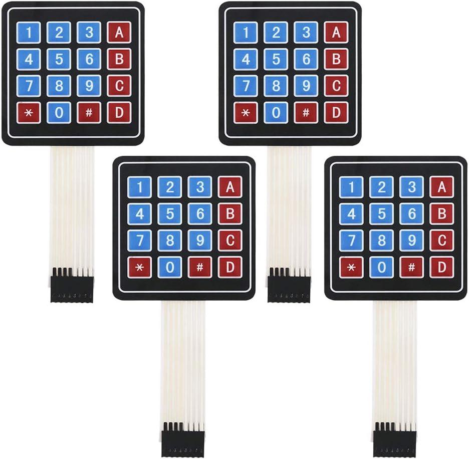 [SCHEMATICS_4LK]  Amazon.com : Yetaida Arduino Keypad, 16 Key Matrix Array Membrane Switch  Keypad for Arduino Microcontroller 4pcs : Camera & Photo | Membrane 1x4 Keypad Wiring Diagram |  | Amazon.com