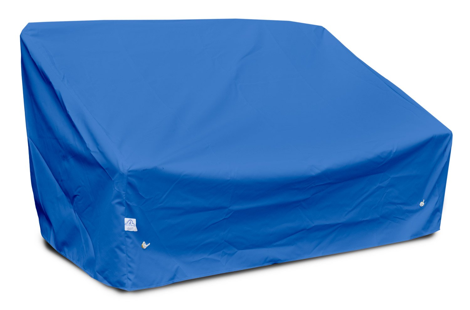 KoverRoos Weathermax 06350 Deep 2-Seat Sofa Cover, 58-Inch Width by 35-Inch Diameter by 32-Inch Height, Pacific Blue