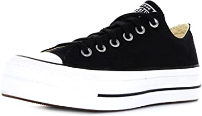 preámbulo inferencia Agua con gas  Amazon.com | Converse Women's Chuck Taylor All Star Metallic Platform Low  Top Sneaker, 8 US | Fashion Sneakers