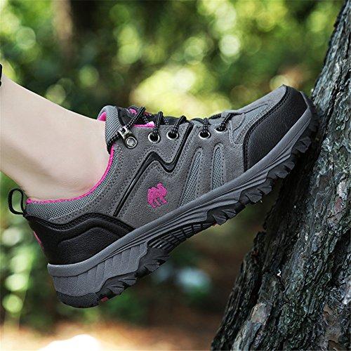 TORISKY Men's Women's Fashion Sneakers Running Trainers Outdoor Sport Climbing Shoes Pink jpeIpSu