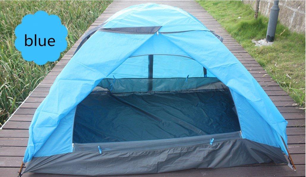 Haiyan Aluminiumlegierung Doppel Doppel Zelt Outdoor Camping Zelt Liebhaber Camping Supplies ZXCV