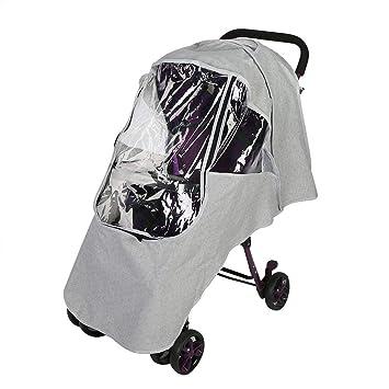Universal Buggy Pushchair Stroller Pram Rain Cover Travel Weather Wind Cover SH