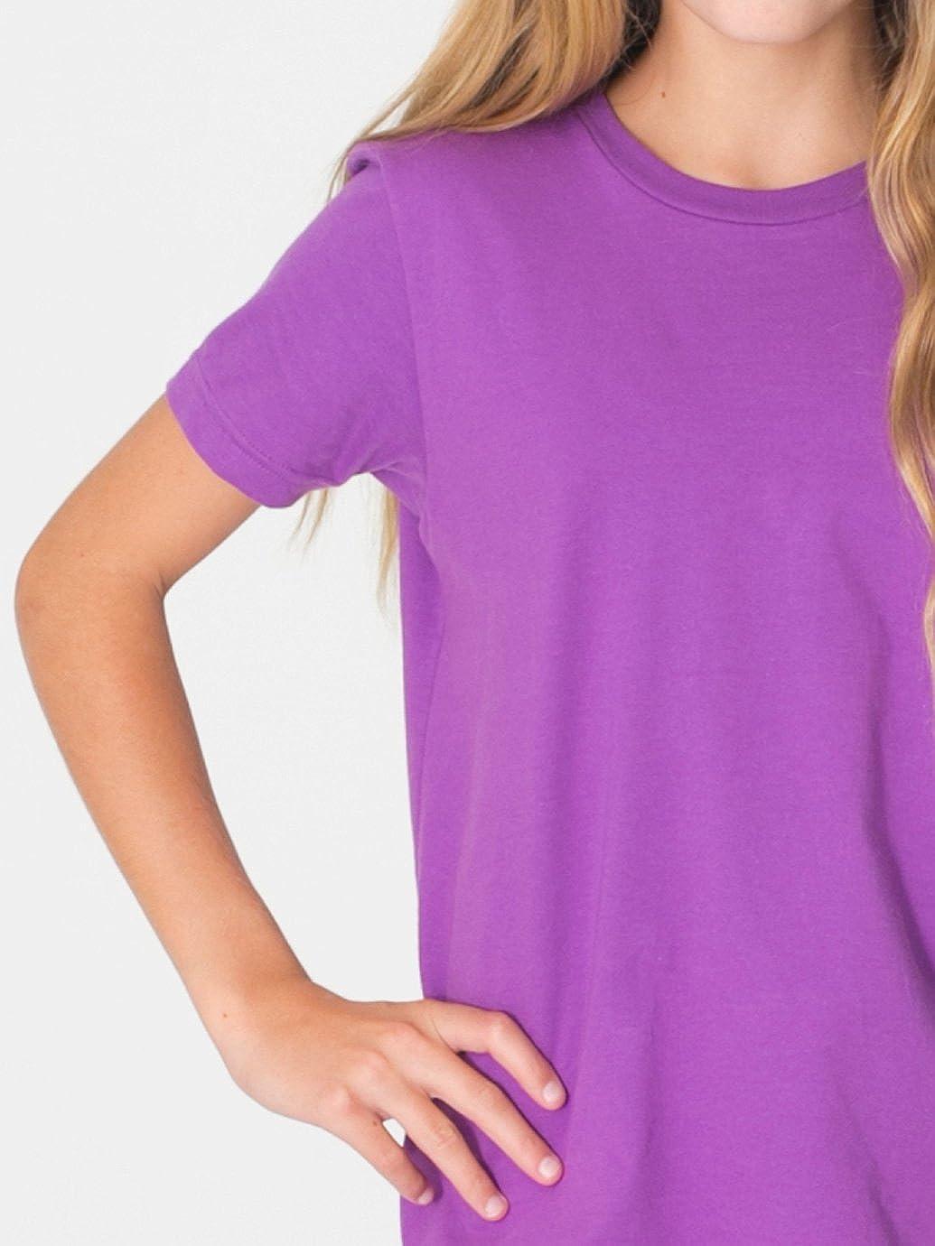 10 Years Black American Apparel Organic Youth Fine Jersey Short Sleeve T-Shirt