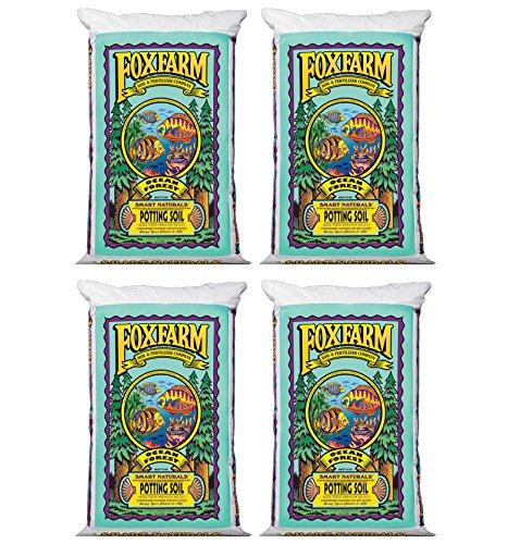 (4) FoxFarm FX14000 Ocean Forest Garden Potting Soil Bags 6.3-6.8 pH | 6 Cu Ft by Fox Farm