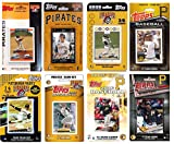 C&I Collectables MLB Pittsburgh Pirates Men's 8 Different Licensed Trading Card Team Sets, White