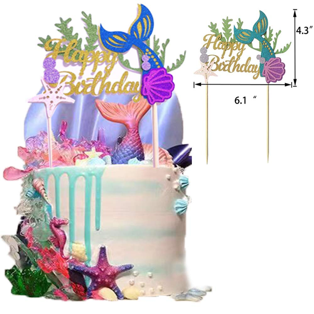 Mermaid Party Supplies And Decorations Kit Mermaid Birthday Party Banners Tissue Tassels Pom Poms Flowers Paper Lanterns Mermaid Cake Topper Mermaid Latex Balloons For Mermaid Birthday Party Favors Baby Shower Decorations ondream