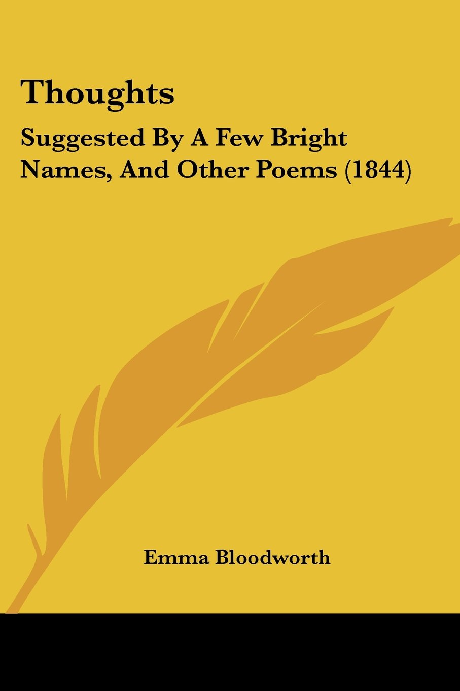 Download Thoughts: Suggested By A Few Bright Names, And Other Poems (1844) ebook