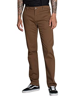 8af30879c Rsq London Brown Skinny Stretch Chino Pants at Amazon Men's Clothing ...