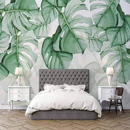 Sfondo Personalizzato Foto Moderna Pianta Tropicale Pittura ...