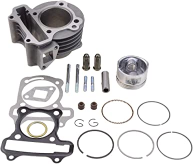 Glixal ATMT1-008 Performance Big Bore Cylinder Kit GY6 80cc 47mm for 139QMB ATV Scooter Moped Go Kart AT MOTOR PARTS