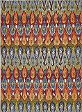 Unique Loom Eden Outdoor Collection Multi 8 x 11 Area Rug (8' x 11' 4'')