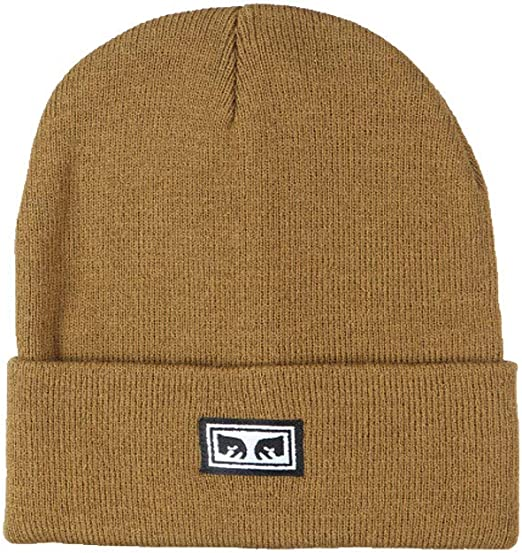 Obey - Sombrero de Invierno Icon Eyes Beanie marrón Claro: Amazon ...
