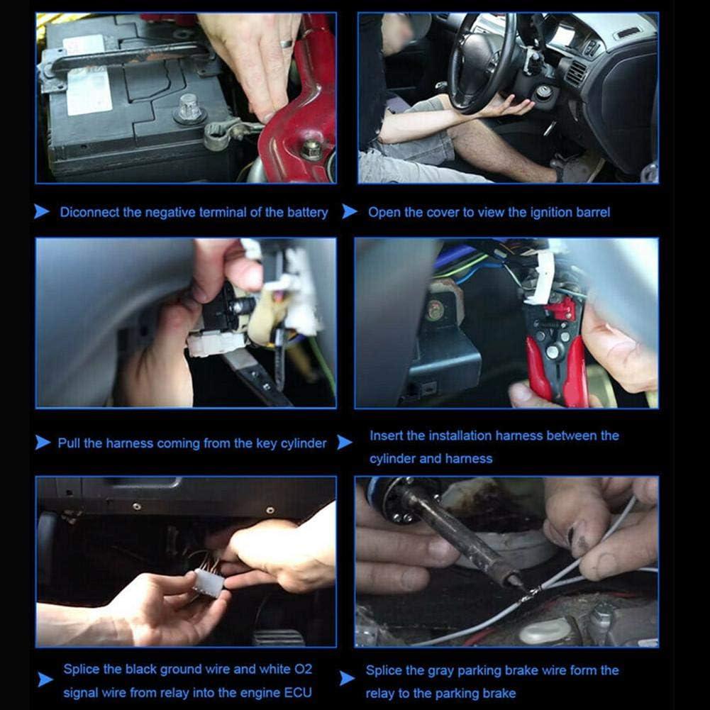 Car Modification Universal Turbo Timer Device Turbine Protection Device Parking Time Retarder LED Digital Display Vehicle Auto Parking Time Retarder Turbo Timer