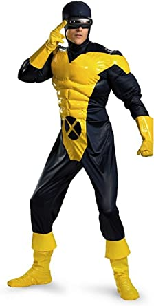 Licensed Mens Wolverine Super Hero Muscle Jumpsuit X-Men Costume X Men Outfits