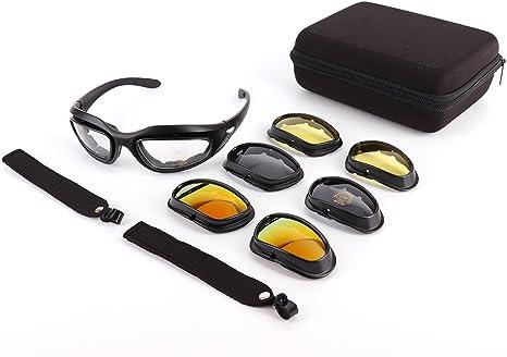 Occhiali Sole Casco Moto Occhiale Sci Bici Montain Bike Bicicletta Nero