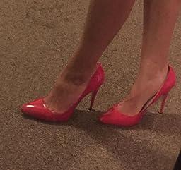 Amazon.com: Loslandifen Womens Shoes Closed Toe High Heels Women\u0026#39;s ...