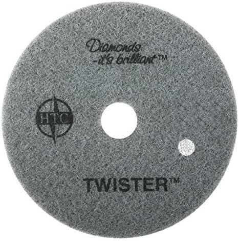 Americo Verarbeitung 435320 Twister weiß Körnung 800 Boden Pad für Schritt 1 Tiefe Reinigung (2 Pack), 50,8 cm