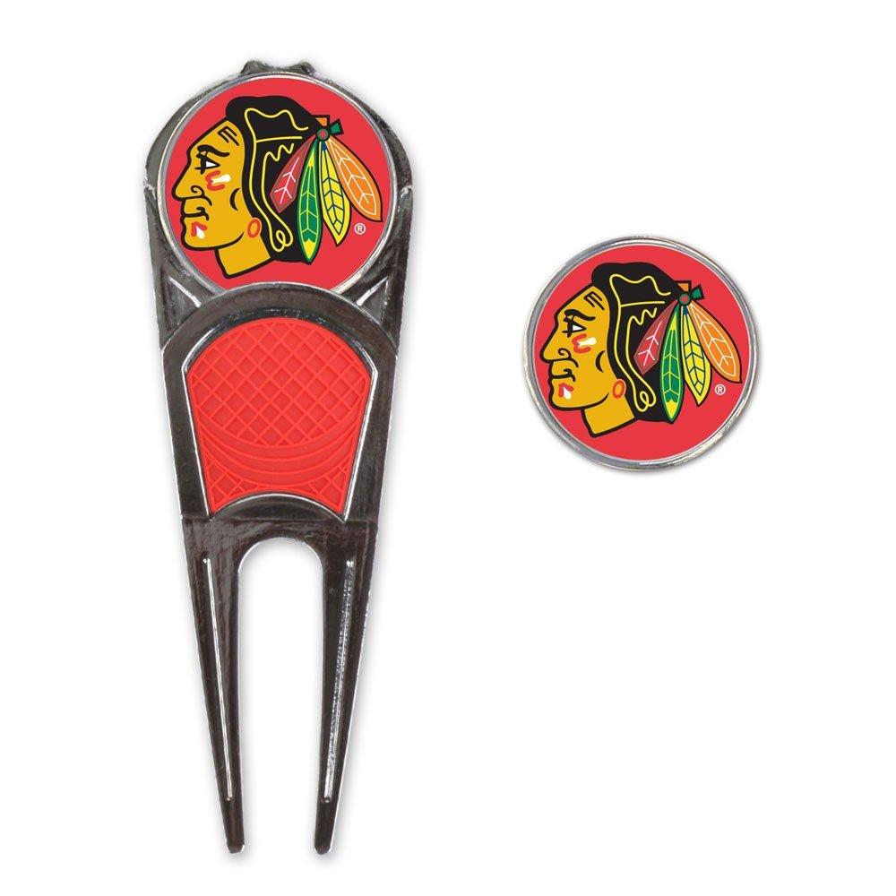 WinCraft NHL Chicago Blackhawks A0191111 Golf Mark Tool H Clip Combo