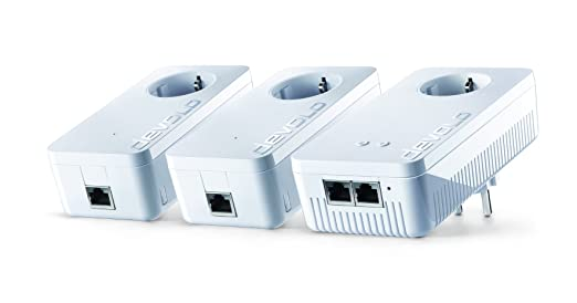 8 opinioni per Devolo Multi Media Power Kit (DLAN 1200 + adattatore WiFi, 2 adattatori Power