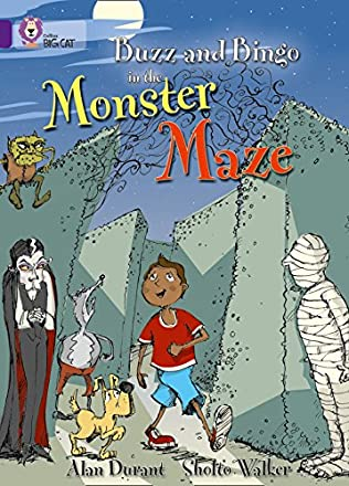 book cover of Buzz and Bingo in the Monster Maze