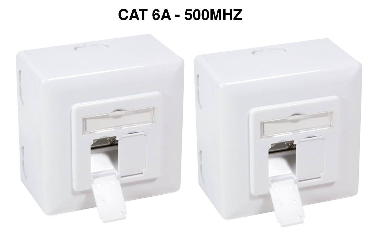 Cablaggio Cat 6 Schema : Odedo® confezione da cat 6 a 10 gigabit universale presa di rete e